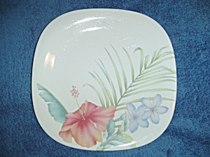 Mikasa Studio Nova Tropical Splendor Square Lunch/Salad Plates  (Image1)