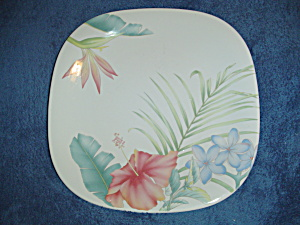 Mikasa Studio Nova Tropical Splendor Square Dinner Plates