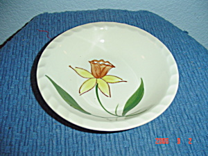 Blue Ridge Daffodil Dessert Bowl