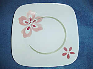 Corelle Square Pretty Pink Lunch Plates
