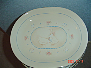 Corelle Country Promenade Oval Platter