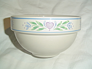 Tienshan Laurel Hearts Soup/cereal Bowls