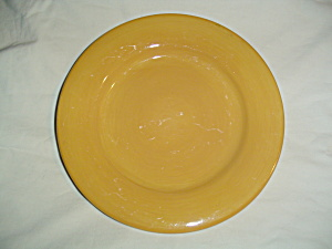 Artimino Ciao Ii Yellow Dinner And Lunch Plates Lot Of 5 Damaged