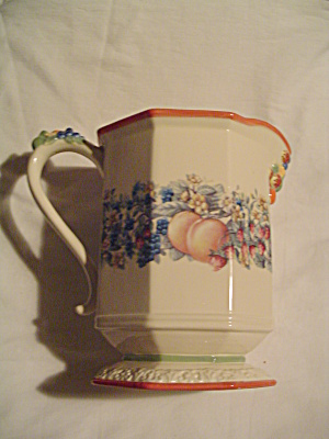 Avon Wild Country Harvest Pedestal Serving Pitcher