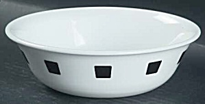 Corelle Urban Black Soup/cereal Bowls