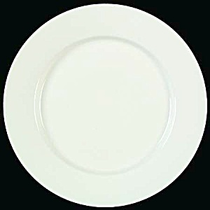 Thomson Basic White Rimmed Dinner Plates