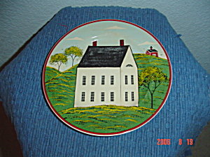 Sakura Country Life White House Salad Plates