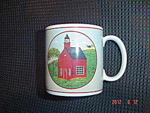 Sakura Country Life Little Red School Mugs