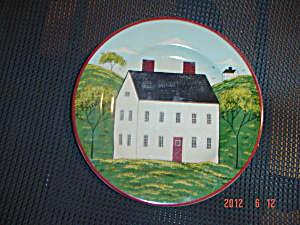 Sakura Country Life White House #2 Salad Plates (Image1)