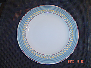 Sakura Debbie Mumm Vintage Country Kitchen Dinner Plates