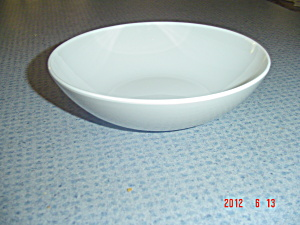 Centura Gray (Grey) And White Cereal Bowls