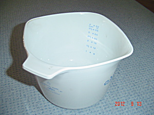 Corning Ware Cornflower Blue Measuring Diamond Stovetop Pot
