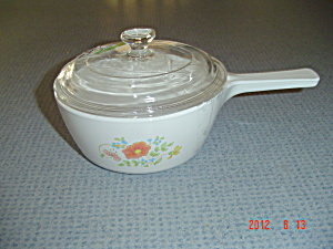 Corning Ware Wildflower Covered Pot 1 Pint