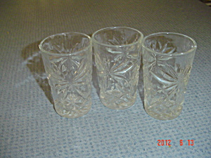 Vintage Eapc Juice Glasses - Set Of 2
