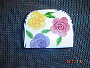 Tabletops Unlimited Flora Di Roma Napkin Holder