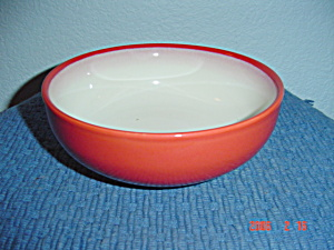 Sango Nova Retro Red Soup/cereal Bowls