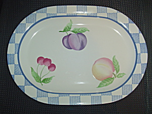 Pfaltzgraff Hopscotch Oval Platter (Image1)
