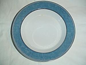 Dansk Gridworks Blue Rimmed Soup Bowls (Image1)