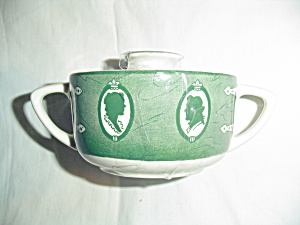 Royal China Old Curiosity Shop Covered Sugar Bowl