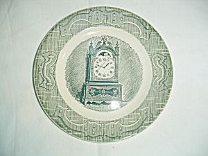 Royal China Old Curiosity Shop Bread And Butter Plates