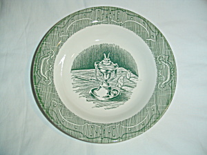 Royal China Old Curiosity Shop Rimmed Soup Bowls