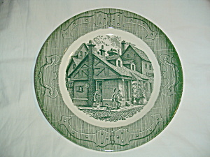 Royal China Old Curiosity Shop Dinner Plates  (Image1)