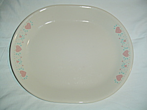 Corelle Forever Yours Oval Platter
