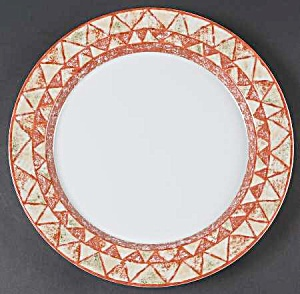 Dansk Travatine Salad/lunch Plates