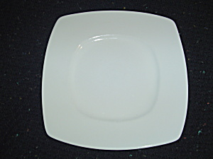 Pier 1 New Luminous Square White Dinner Plates