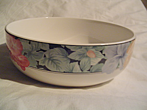 Mikasa Maxima Tapestry Garden Round Serving Bowl