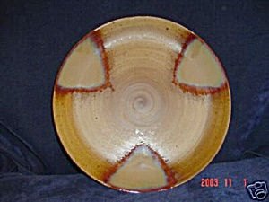 Sango Splash Brown Chop Plate/round Platter