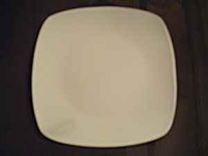 Fitz And Floyd Gourmet White Dinner Plates