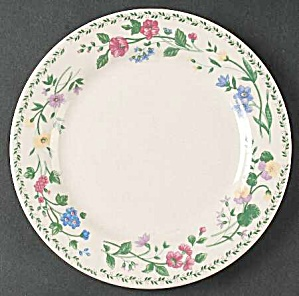 Farberware English Garden 4241 Salad Plates  sc 1 st  The Internet Antique Shop & Farberware - Antique China Antique Dinnerware Vintage China ...
