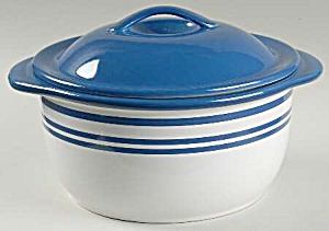 Corelle Coordinates Blue Cafe 2.5 Quart Covered Casserole