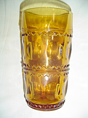Vintage Colony Indiana Glass Kings Crown Thumbprint  Glasses (Image1)