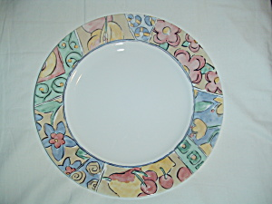 Corelle Watercolors Dinner Plates (Image1)