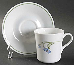 Corelle Blue Dusk Cups And Saucers