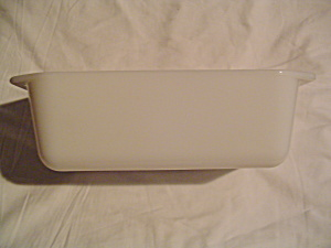 Pyrex White Loaf Pan
