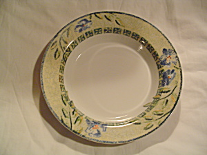 Dansk Annika Rimmed Soup Bowls & Dansk - Antique China Antique Dinnerware Vintage China Vintage ...