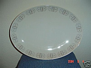 Franciscan Merry-go-round Small Oval Platter