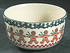 Tienshan Gingerbread Cereal Bowls