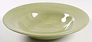 Pottery Barn Sausalito Merlot Moss Green Soup Bowl