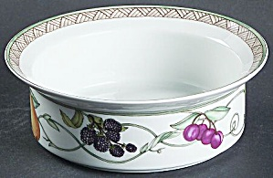 Dansk Umbrian Fruit Rimmed Cereal Bowl