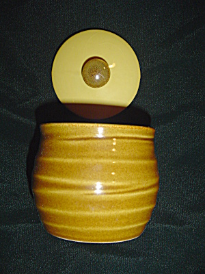 Sango Quarry Gold Covered Sugar Bowl