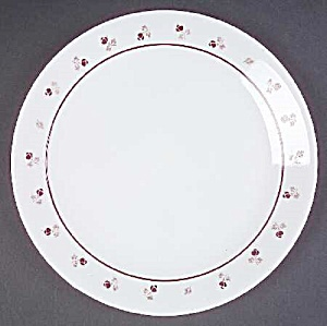 Corelle Burgundy LUNCH Plates (Image1)