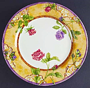 222 Fifth Tuscany Rose Dinner Plates