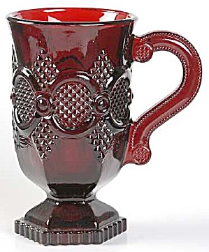 Avon Cape Cod 5 in. Tall Handled Footed Mugs (Image1)