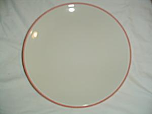 Calvin Klein Coral Edge Dinner Plates - Brand New (Image1)