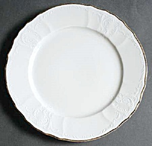 Baum Bros Formalities Bernadotte Ivory Dinner/Chop Plates (Image1)