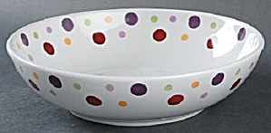 Pampered Chef Dots Simple Additions Individual Pasta Bowl